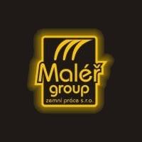 logo Maléř group zemní práce s.r.o.